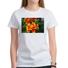 Red and Orange Flowers Tee