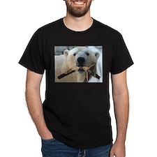 Jesus vs Polar Bear dark shirt