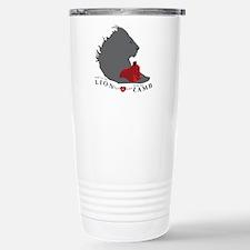 Twilight LION LAMB on White Travel Mug