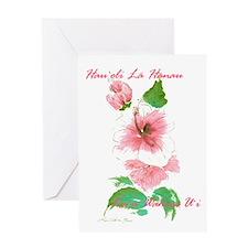 """""""Pretty Lady"""" Birthday Greeting Card"""