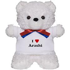 I Love Arashi Teddy Bear