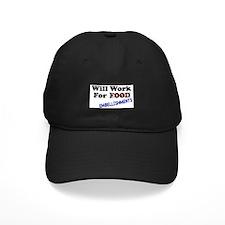 Will Work For Embellishments Baseball Hat