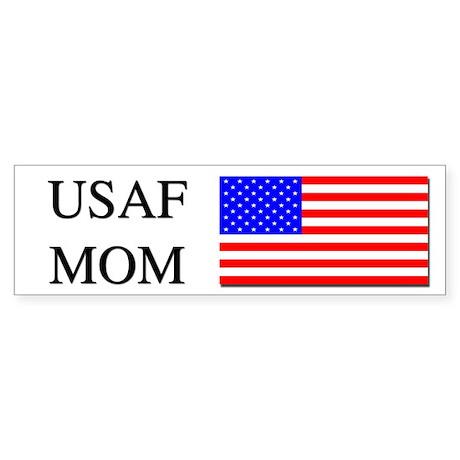Air Force Mom Bumper Sticker