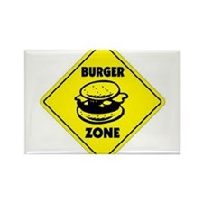 Burger Zone Rectangle Magnet (10 pack)