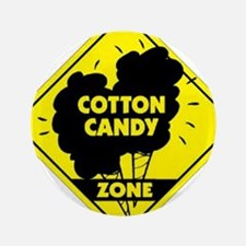 """Cotton Candy Zone 3.5"""" Button"""