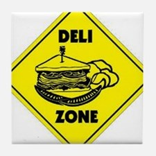 Deli Zone Tile Coaster
