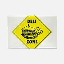 Deli Zone Rectangle Magnet