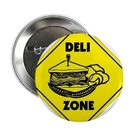 """Deli Zone 2.25"""" Button"""