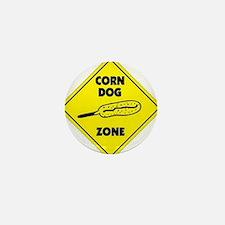 Corn Dog Zone Mini Button