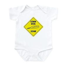 Corn Dog Zone Infant Bodysuit