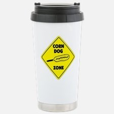 Corn Dog Zone Stainless Steel Travel Mug