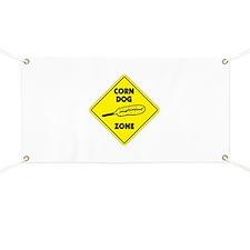 Corn Dog Zone Banner