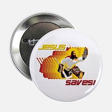 """Jesus Saves 2.25"""" Button"""