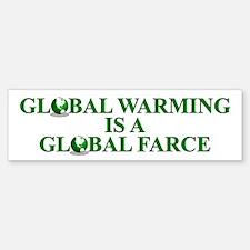 Global Warming Global Farce - Bumper Bumper Sticker