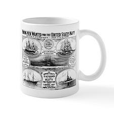 1908 Navy Recruiting Mug