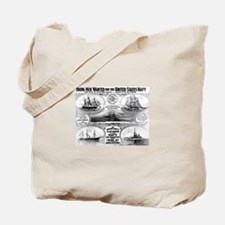 1908 Navy Recruiting Tote Bag