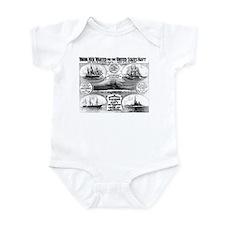 1908 Navy Recruiting Infant Bodysuit