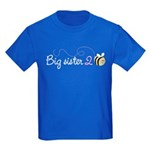 Big Sister to Bee Kids Dark T-Shirt