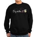 Big Sister to Bee Sweatshirt (dark)