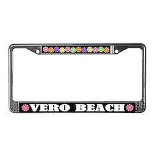 Vero Beach Florida License Plate Frame