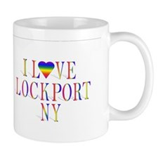 I love Lockport, NY products Mug