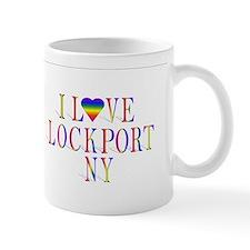 I love Lockport, NY products Small Mug