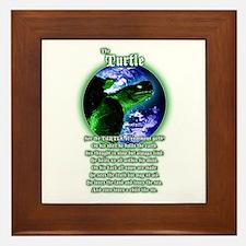 """""""The Turtle"""" Framed Tile"""