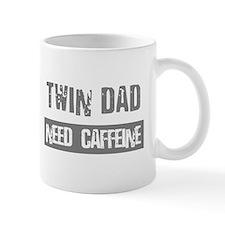 Twin Dad - Need Caffeine - Coffee Mug