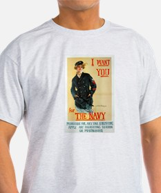 For The Navy T-Shirt