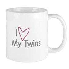 I (heart) My Twins - Coffee Mug