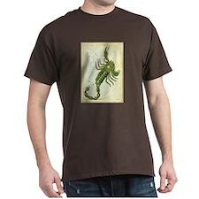 Vintage Celestial Zodiac, Scorpio T-Shirt