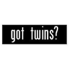 got twins? - Bumper Bumper Sticker