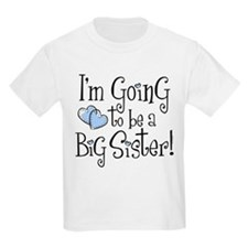 Heart New Big Sister T-Shirt