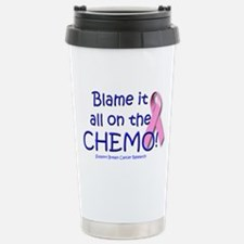 Blame it All On the Chemo! Travel Mug