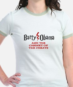 Barry Obama and the Cabinet of Tax Cheats T