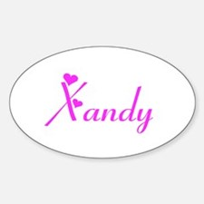 Xandy Oval Decal