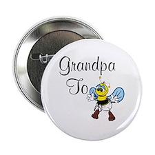 Grandpa To Bee Button