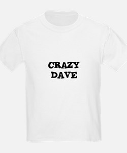 CRAZY DAVE Kids T-Shirt