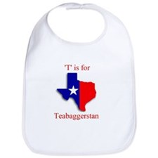 Cute Texas tea Bib