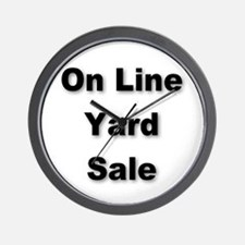 Cute For sale signs Wall Clock