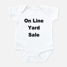 Unique For sale signs Infant Bodysuit