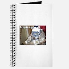 Cute Hockey cat Journal