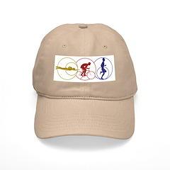 Casual Tri Pose Baseball Cap