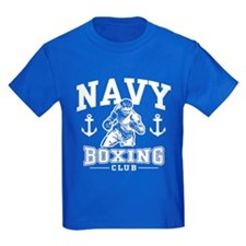 Navy Boxing T
