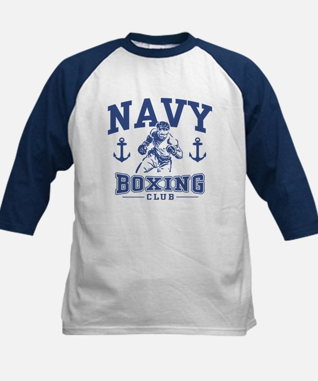 Navy Boxing Tee