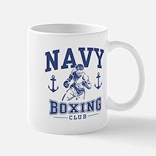 Navy Boxing Mug