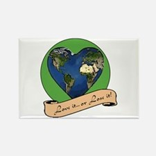 Cute Protect environment Rectangle Magnet