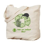 Keep New Zealand Clean Tote Bag