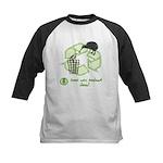 Keep New Zealand Clean Kids Baseball Jersey