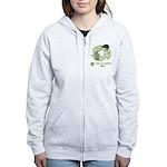 Keep New Zealand Clean Women's Zip Hoodie